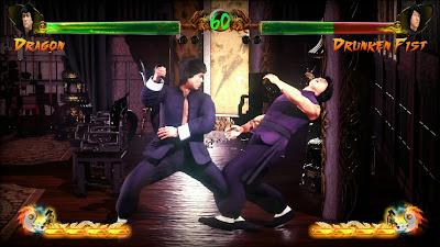 Screenshot Shaolin vs Wutang Bruce vs Jackie