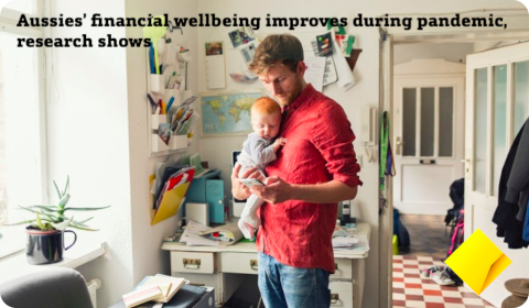 Aussie's financial wellbeing…