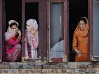 "Lockdown in Indian occupied Kashmir. ""The new death trap for Kashmiri girls"""