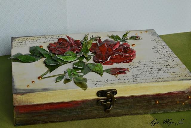 Róże….