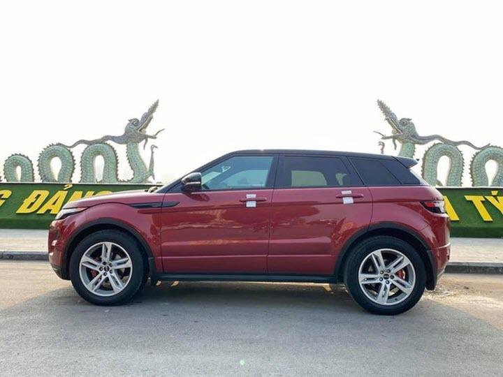 Range Rover Evoque giá ngang Hyundai Tucson sau 8 năm sử dụng