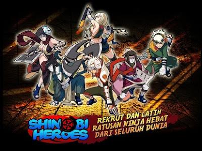 Shinobi Heroes Apk v2.35.060 Terbaru