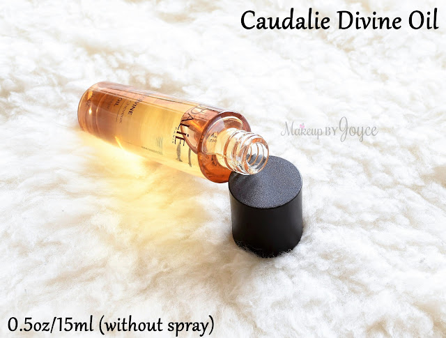 Caudalie Divine Oil Review Limited Edition Travel Size Spray Pump