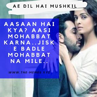 Ae Dil Hai Mushkil-Sad Dialogues Whatsapp Status Video Download 2020