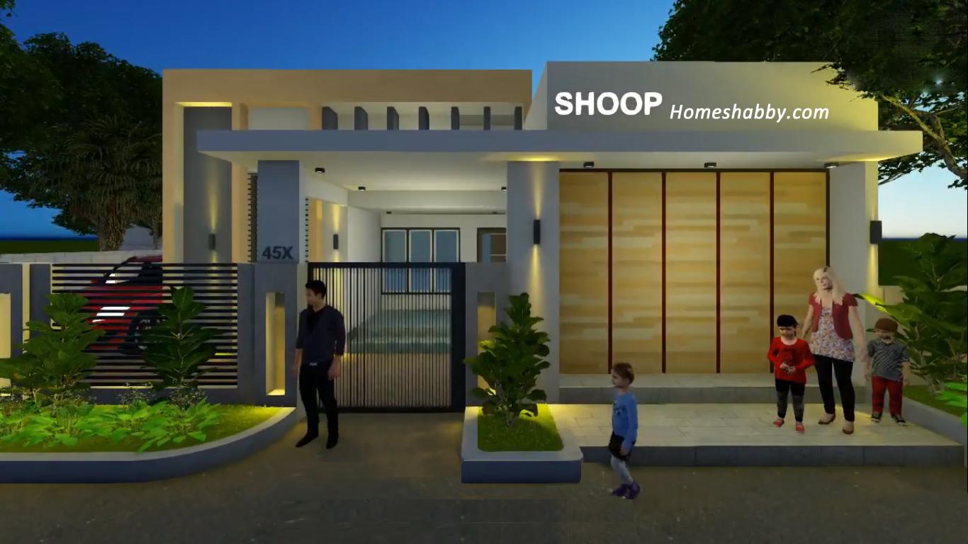 Desain Dan Denah Rumah Toko Type 36 Yang Elegan Enak Dipandang Homeshabby Com Design Home Plans Home Decorating And Interior Design