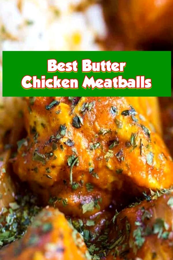#Butter #Chicken #Meatballs