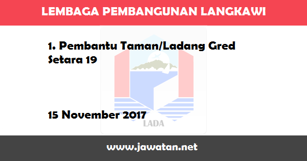 Jawatan Kosong di Lembaga Pembangunan Langkawi (LADA)