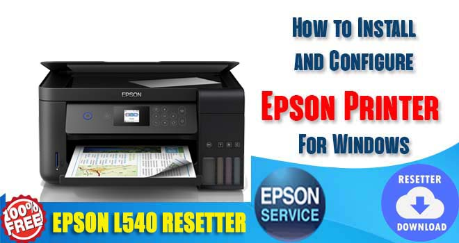 Epson L540 Adjustment Program