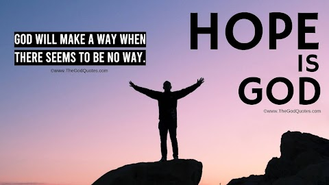 21 Hope In God Quotes