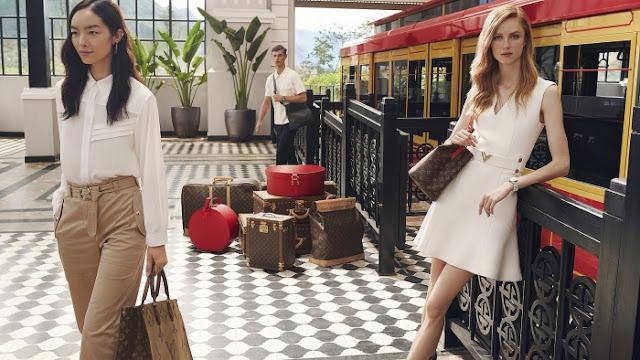 Louis Vuitton campaign in Vietnam.