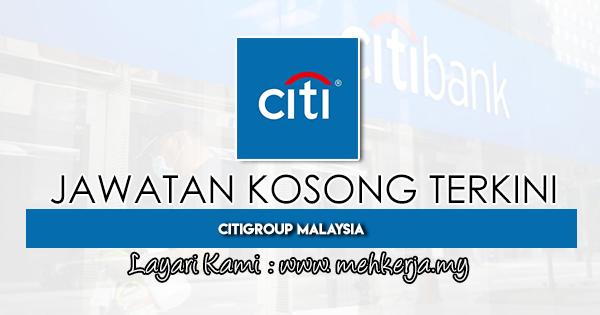 Jawatan Kosong Terkini di Citigroup Malaysia