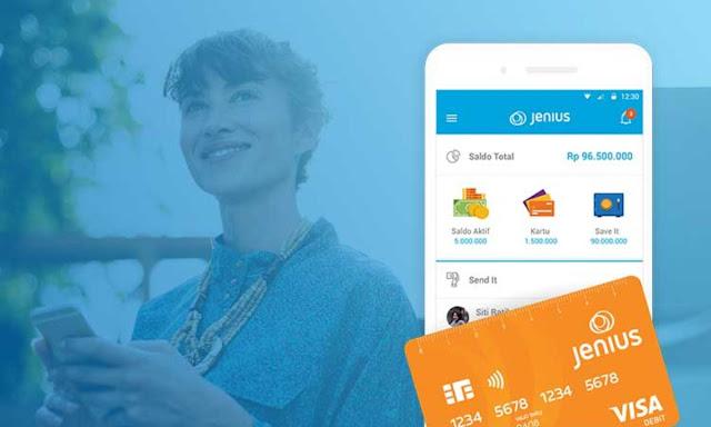 Aplikasi Layanan Keuangan Jenius Rilis Fitur Moneytory