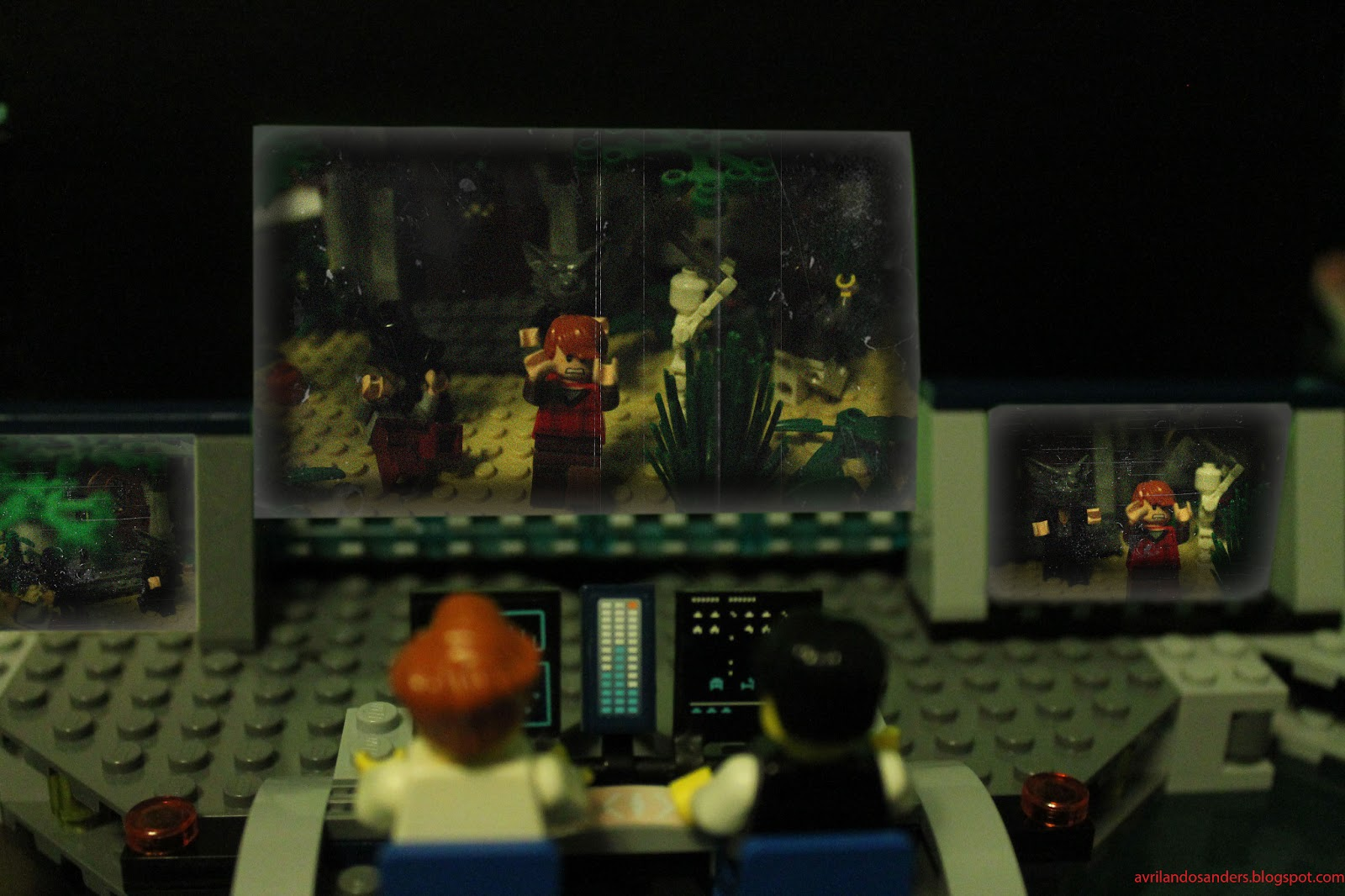 Avrilando L W Sanders Lego Cabin In The Woods