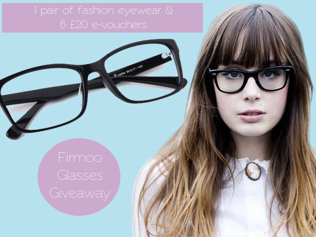 261a90b1e5 I was contacted by online fashion eyewear company Firmoo to offer one lucky  winner a pair of fashionable glasses of their choice - either prescription  or ...