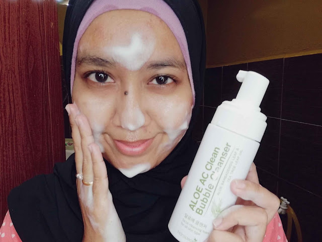 Hansaegee Nature : Aloe AC Clean Bubble Cleanser