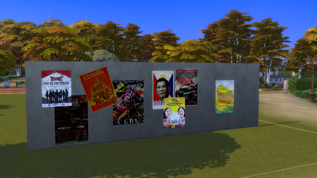 Sims 4 Pinoy Stuff Pack Pinoy Posters
