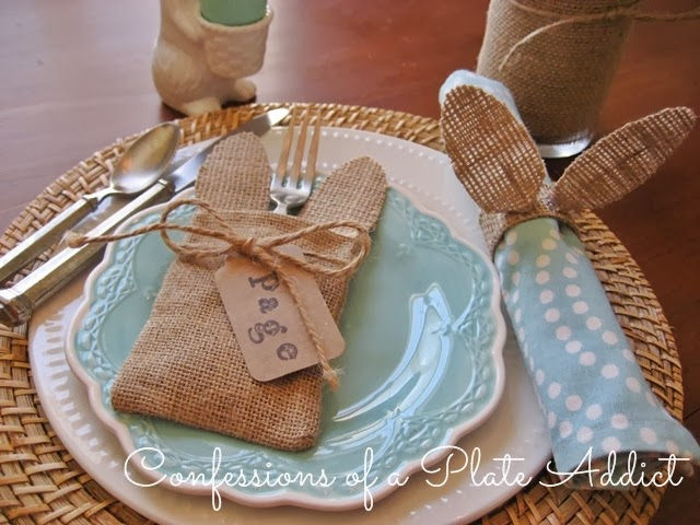 Confessions Of A Plate Addict Pier 1 Inspired Burlap
