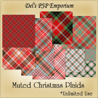 Muted Christmas Plaids