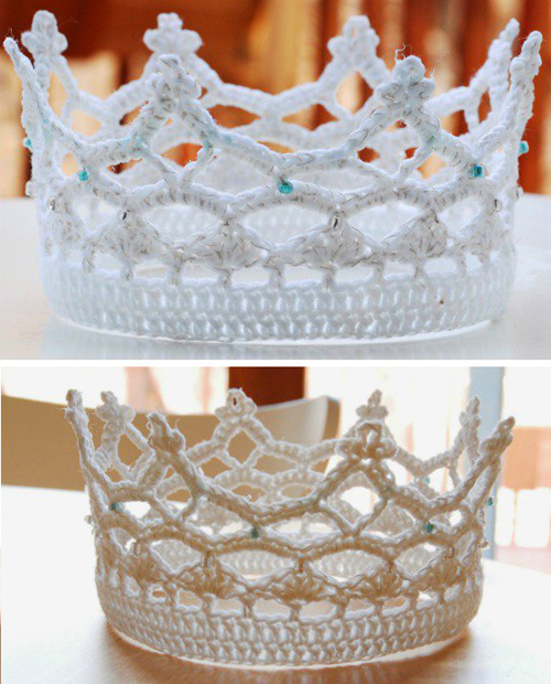 Royal Crochet Crown - Free Patterns