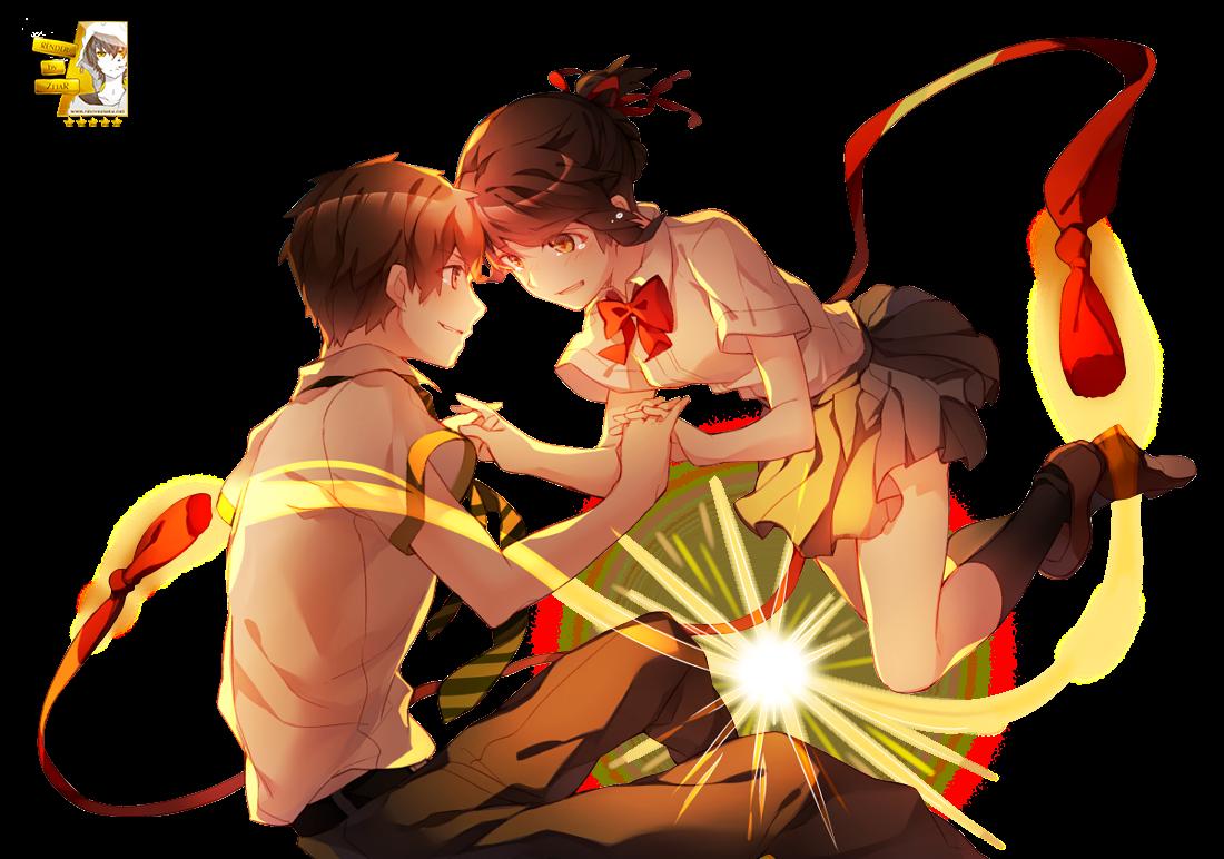 Render Miyamizu Mitsuha & Tachibana Taki