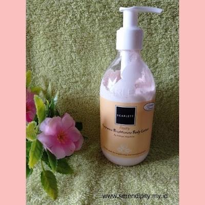 body lotion scarlett whitening