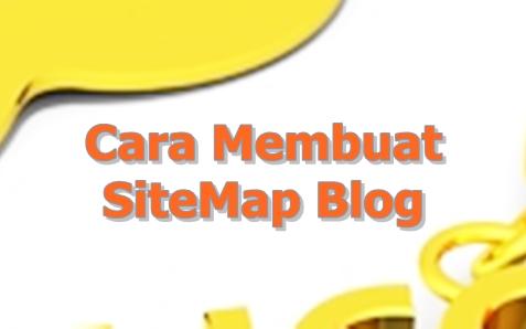 Cara membuat site map keren di blogger kamu ala kerjaku