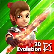Game Dashero: Archer Sword 3D - Offline Arcade Shooting MOD UNLIMITED ADD GOLD