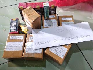 Dokumentasi pengiriman paket pekan kemarin Periode Tgl 04 - 10 Mei 2020