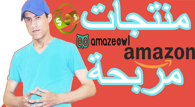 إستراتيجية إيجاد المنتجات المربحة في أمازون-amazeowl