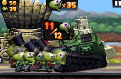 تحميل لعبة Zombie Tsunami apk للاندرويد
