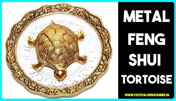 Metal Feng Shui Tortoise for deepawali puja