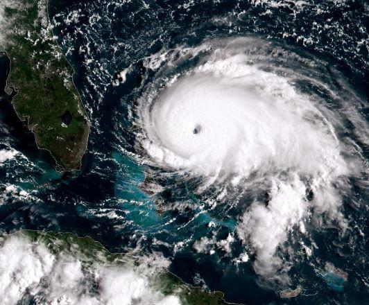 Category 5 Hurricane Dorian makes landfall in the Bahamas