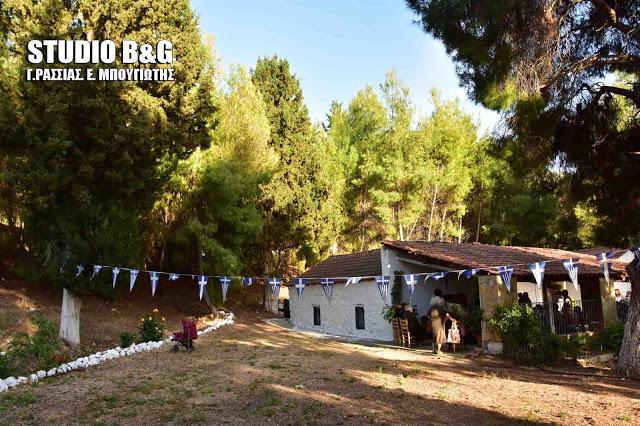 Ναύπλιο: Γιορτάζει το εκκλησάκι του Αγίου Ιωάννη στη Καραθώνα