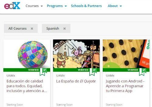 EDX cursos en español de calidad