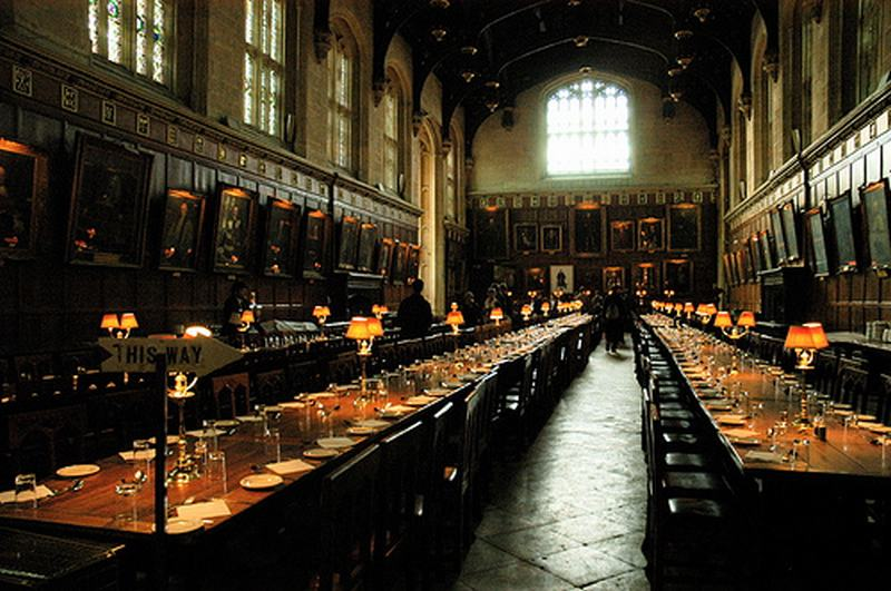 comedor christchurch college, Oxford college