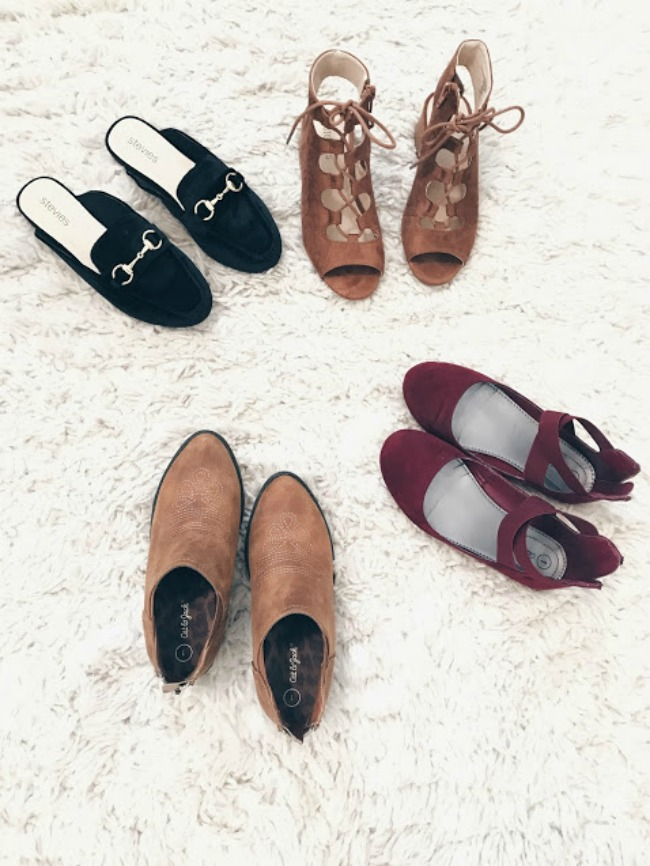 The Four Fall Shoes You Need
