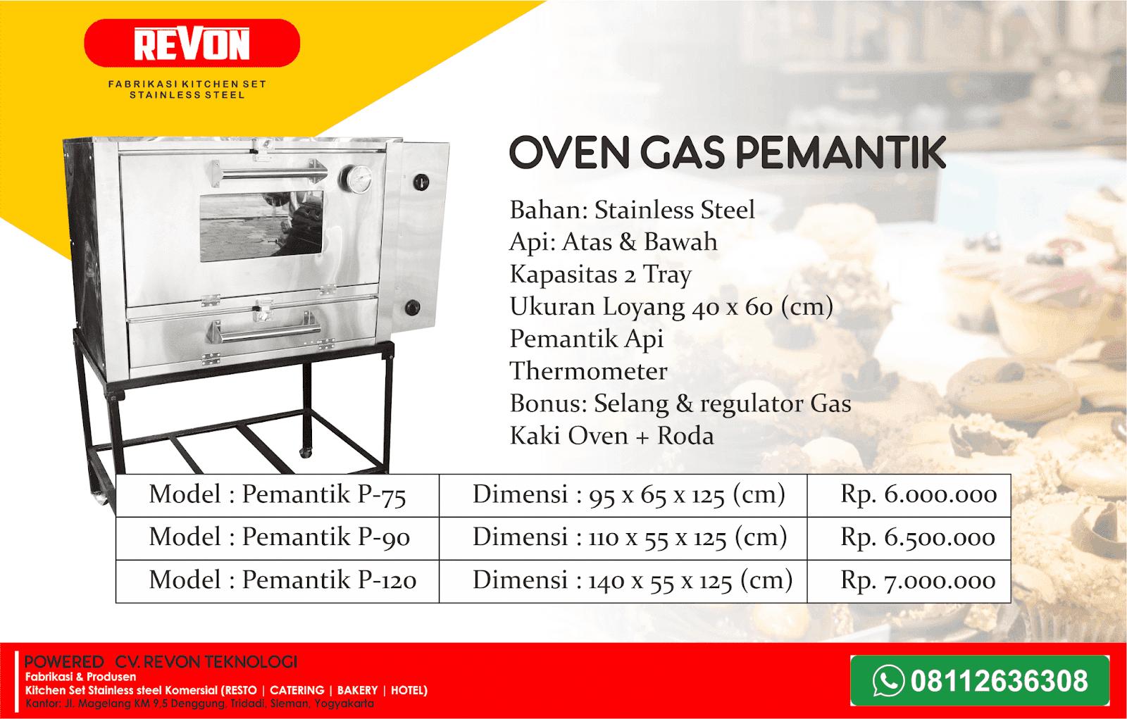 Daftar Merk Oven Gas Bagus Untuk Usaha Roti & Kue