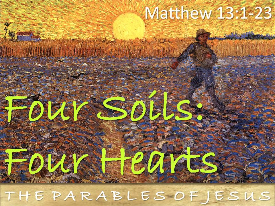 Shadow In The Son : Message- The Parable of The Sower - By ...