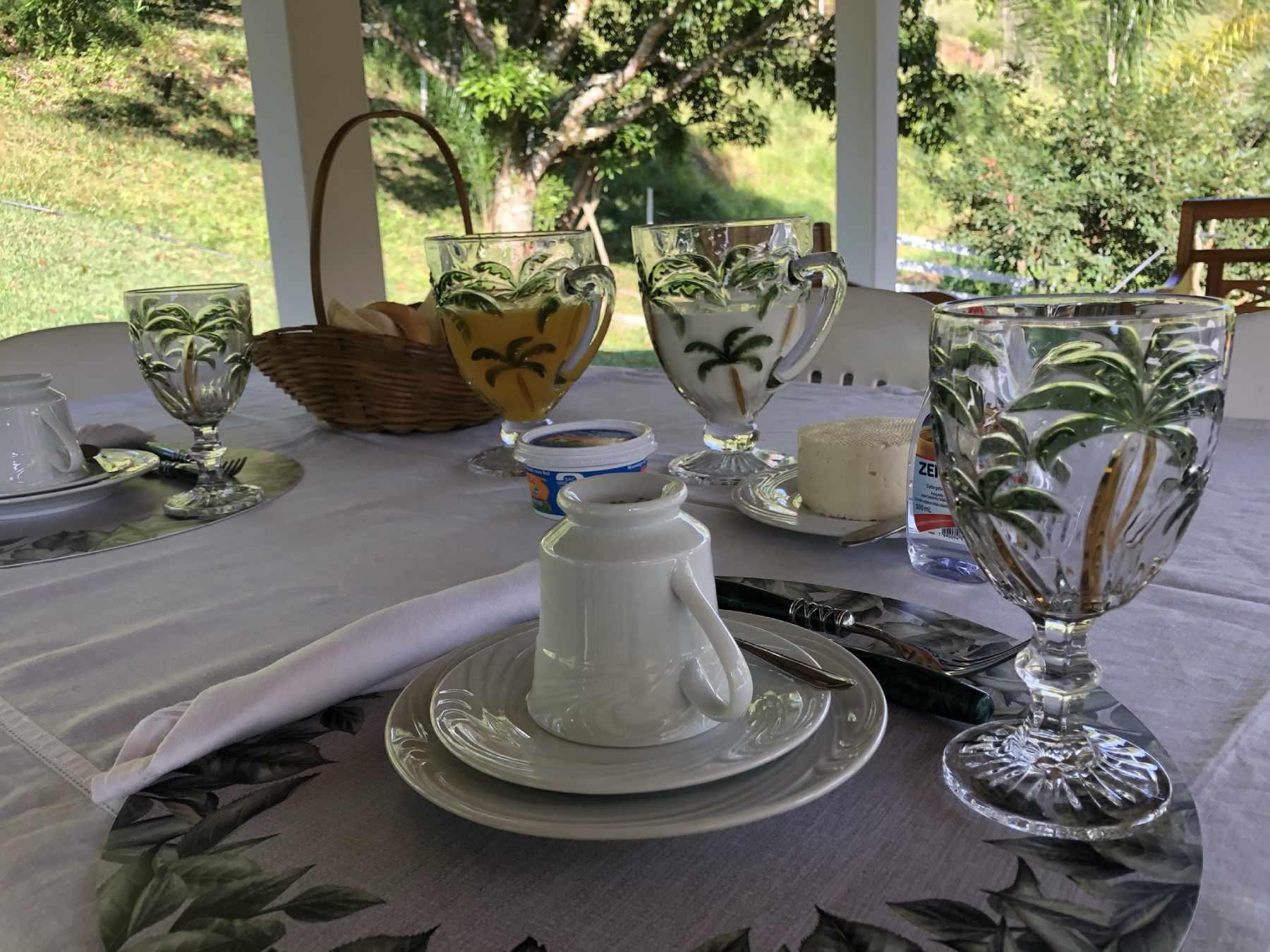 Café da manhã Fazenda Sertão Queluz