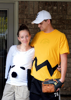 Couple Costume: Peanuts