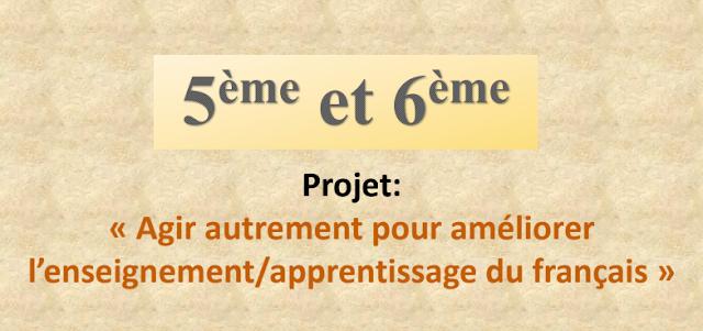 ديداكتيك اللغة الفرنسية للمستويين الخامس والسادس وفق المنهاج الجديد المنقح