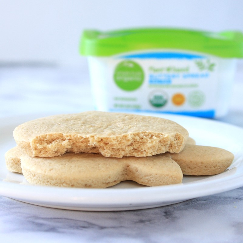 Tried and tested - the very best non-dairy vegan butter for roll out sugar cookies