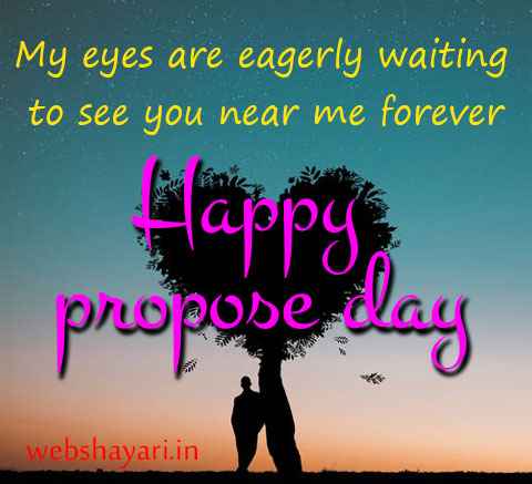 2 line propose day quote shayari