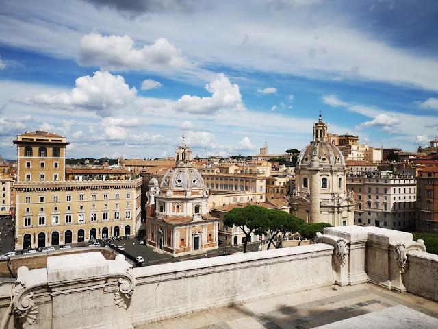 vista su piazza venezia