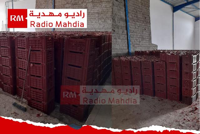 المهدية : حجز 70 طن من البصل في مخزن بالجم