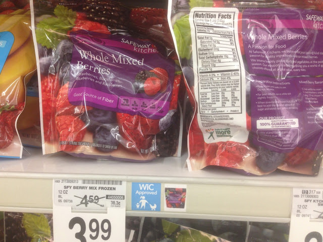 Whole Mixed Berries, Safeway Kitchens, 12 oz - Safeway