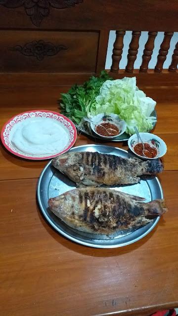 Gegrillter Fisch Thailand
