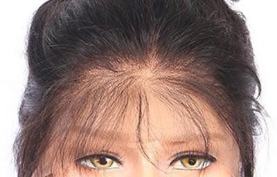 تخفيف الشعر من مقدمة الباروكة