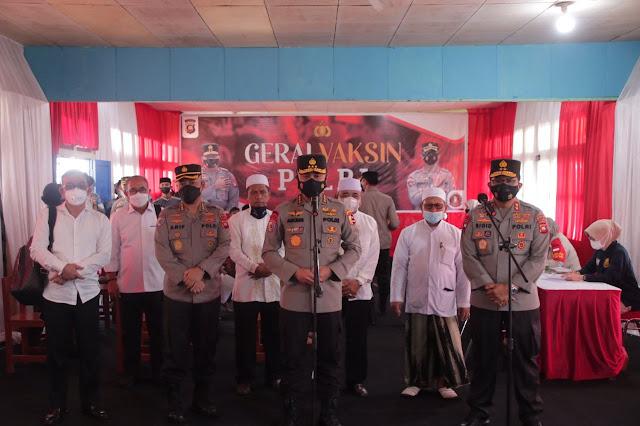 Kunjungi Polda Kalbar, Irwasum Polri Apresiasi Antusias Masyarakat Kalbar Dalam Pelaksanaan Vaksinasi
