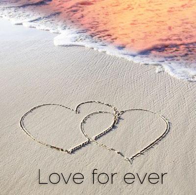 beach sand love wallpaper hd download